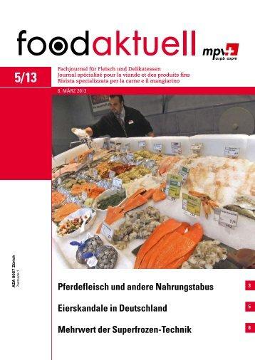 Eierskandale in Deutschland Mehrwert der ... - Foodaktuell.ch