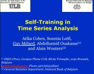 Self-Training in Time Series Analysis