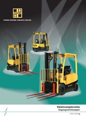 Hyster Elektrostaplerreihe - Forklift