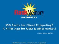 SSD Cache for Client Computing? - Flash Memory Summit