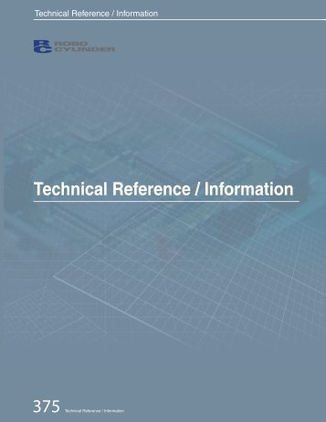 Technical Reference / Information