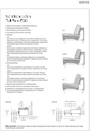 Rolf Benz Ego-Typenplan als PDF-Download