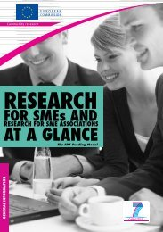 Research for SMEs - European Commission - Europa