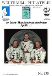 235 Heft CH-SPN Seiten - Gesellschaft der Weltall-Philatelisten, CH
