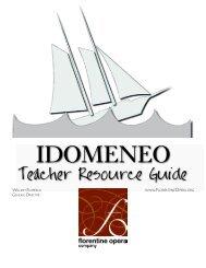 Teacher Resource Guide - Florentine Opera