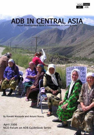 ADB in Central Asia Foreword-Part2.pdf - NGO Forum on ADB