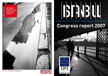 Congress report 2007 - International Press Institute