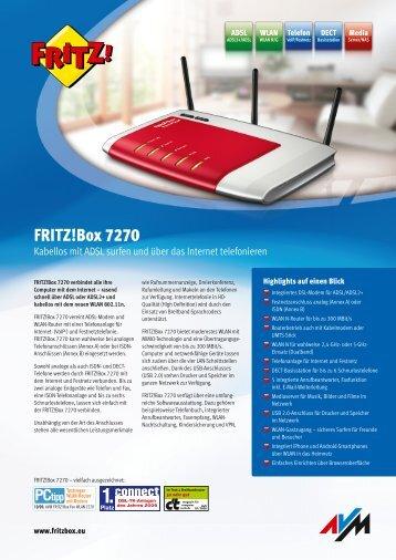 Box 7270 - Fritz!