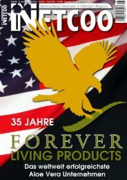 Jubiläum FOREVER - Forever Living Products