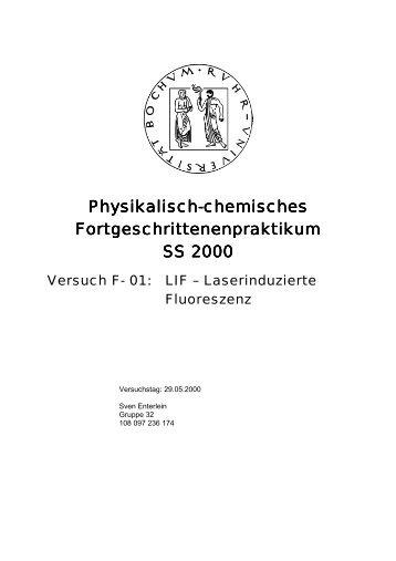 LIF-Spektroskopie - funnycreature.de