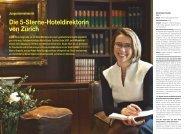 Die 5-Sterne-Hoteldirektorin von Zürich - Hotel & Gastro Union