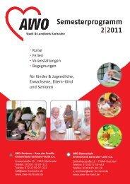 Semesterprogramm - AWO Karlsruhe