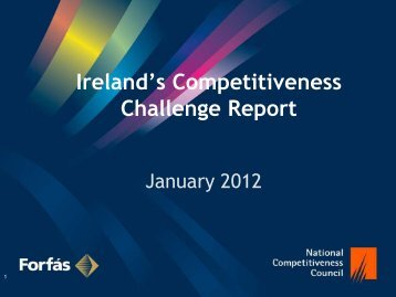 Ireland's Competitiveness Challenge 2011 - The National ...