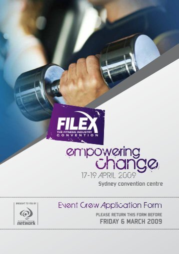 change change - Australian Fitness Network