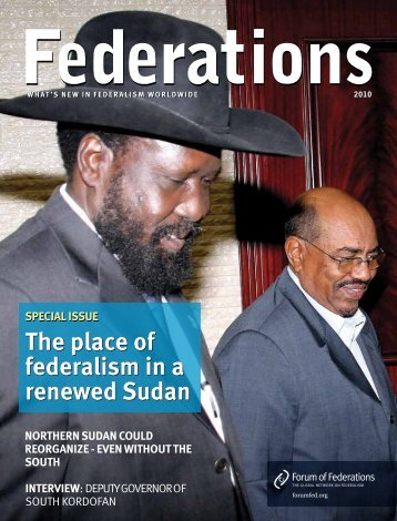 SudanSpecial2010 .pdf - Forum of Federations