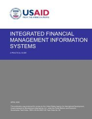 Integrated Financial Management Information Systems: A ... - Frp2.org