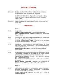 Justicia y economía - Fundacion Universidad Rey Juan Carlos