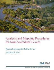 FEMA-Analysis and Mapping Procedures for Non-Accredited Levees