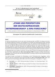 stand und perspektiven der deutschsprachigen ... - FGF e.V.