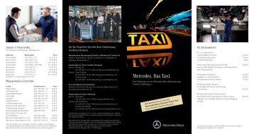 Taxi-Service-Flyer (PDF 2,58 MB) - Mercedes-Benz Niederlassung ...