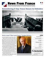 Vol. 12.05 - July, 2012 - Embassy of France