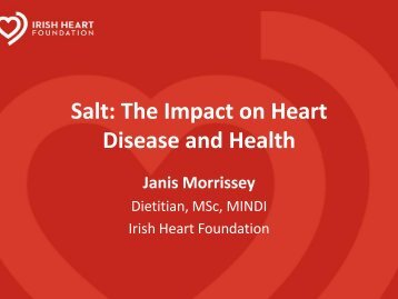 Salt: The Impact on Heart Disease and Health