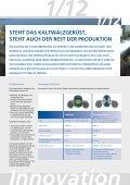 VERBESSERUNGEN BEIM KALTWALDEN - FUCHS AUSTRIA Schmierstoffe GmbH - Seite 3