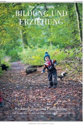 Frühförderung und Frühbildung - Frühkindliche Bildung in der Schweiz