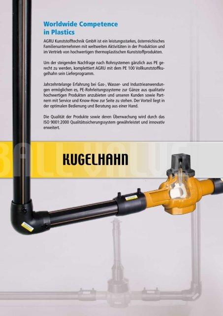 PE 100 - AGRU Kunststofftechnik