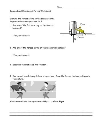 unit iv worksheet 5 weight and mass forces in equilibrium. Black Bedroom Furniture Sets. Home Design Ideas