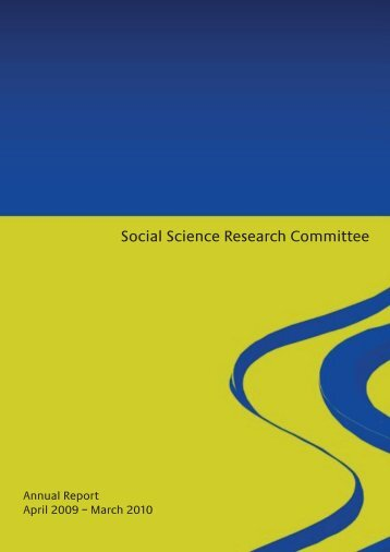 Social Science Research Committee - Food Standards Agency