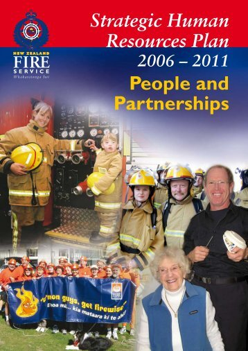 Strategic Human Resources Plan 2006 - New Zealand Fire Service