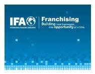 Finding Partners Overseas - International Franchise Association