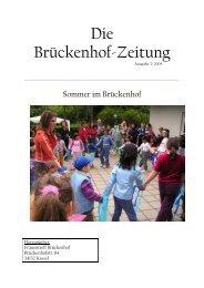 Die Brückenhof-Zeitung - Frauentreff Brückenhof