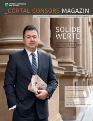 Cortal Consors Magazin - WDV Gesellschaft für Medien ...