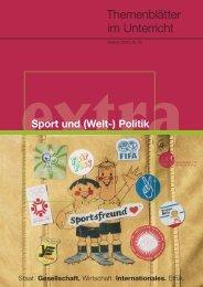 Sport und (Welt-)Politik - Bundeszentrale für politische Bildung