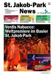Verdis Nabucco: Weltpremiere im Basler St. Jakob-Park