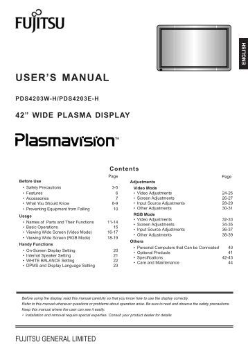 documents display user manual