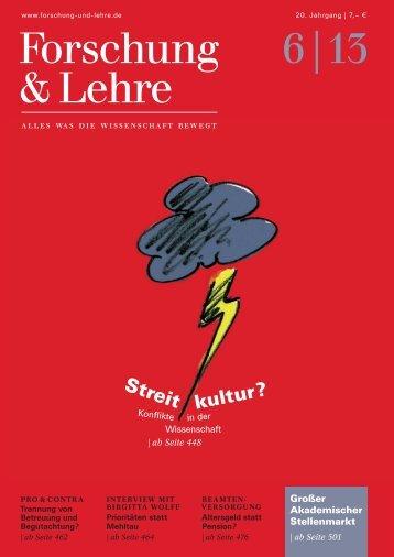 Forschung & Lehre 6/2013
