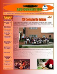 Fort Campbell Army Community Service Newsletter October ...