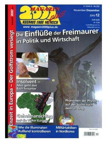 Page 1 Page 2 E. i Ä man FREIMAURER von DEUTSCHLANDÄ 5 ...