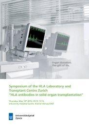 HLA antibodies in solid organ transplantation - Fortbildung