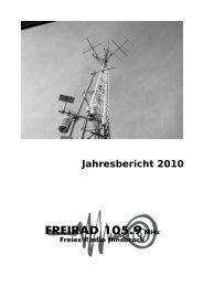 Jahresbericht 2010 - Freirad