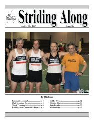 Apr -May 2007 - Gate City Striders