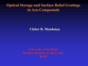 Optical storage - Fotonica.ifsc.usp.br