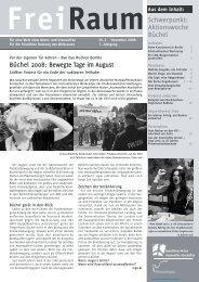 Freiraum 2008 - Gewaltfreie Aktion Atomwaffen Abschaffen