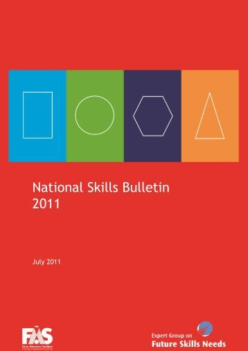 National Skills Bulletin 2011 - Forfás