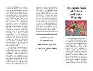 The Significance of Deities and Deity Worship - Krishna.com