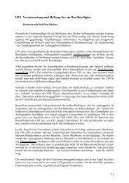 III/3 Verantwortung und Haftung der am Bau Beteiligten - FITR