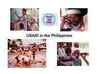 USAID in the Philippines - Bob Wuertz - Fiscal Reform